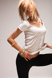 woman dance Stock Image
