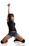 Woman and dance Royalty Free Stock Images