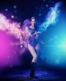 Woman dance Stock Photography