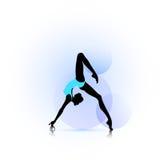 Woman dance icon Stock Image
