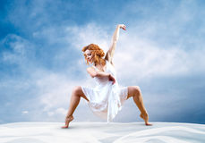 Woman dancer Royalty Free Stock Photo