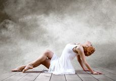 Woman dancer Stock Photography