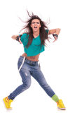 Woman dancer with attitude Royalty Free Stock Photos