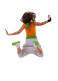 Woman dancer jumping Stock Photography