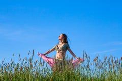 Woman dancer Royalty Free Stock Photos