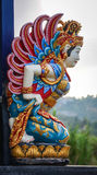 Woman dancer statue at the Ulun Danu temple in Bali, Indonesia Royalty Free Stock Photos