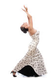 Woman dances Stock Photos