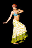 Woman dances east dance Stock Photo