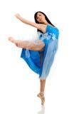 Woman dancing Stock Images