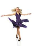 Woman Dancing Stock Photo