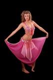 Woman dancing Stock Photography