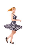 Woman Dancing Royalty Free Stock Photo