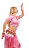 Woman during dancing Stock Image