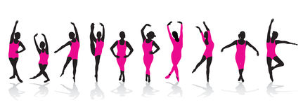 Woman dancing Royalty Free Stock Photography