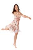 Woman dancing Royalty Free Stock Image