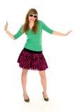 Woman dancing Royalty Free Stock Photos