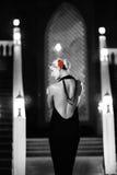 Woman dancing flamenco Royalty Free Stock Photography