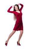 Woman dancing Stock Photos