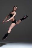 Woman dancing in studio Stock Image