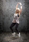 Woman dancing Stock Photo