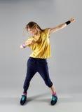 Woman dancing zumba Royalty Free Stock Photo