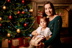 Woman with daughter Stock Photography