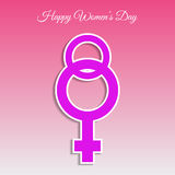 Woman day 8 march card  eps 10 Stock Photos