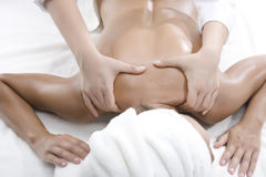 Woman in a day spa Stock Image