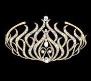 Woman decorative crown Royalty Free Stock Photos