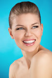 Woman dental care Royalty Free Stock Images