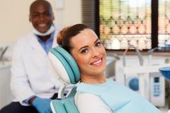 Woman dentist office Stock Photos