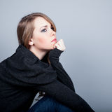 Woman Depressed Stock Images