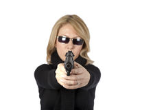Woman detective Stock Photos