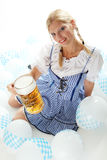 Woman in Dirndl Stock Images