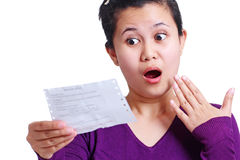 Woman In Disbelief Royalty Free Stock Photo