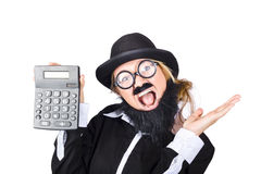 Woman tax accountant Stock Photography