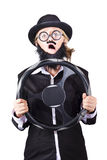 Defensive driver Stock Photography