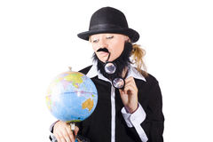 Global concern concept Stock Photography