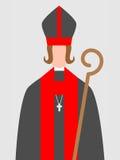 Woman-bishop Royalty Free Stock Images