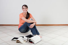 Woman with diversion safe Stock Image