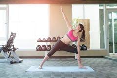 Woman do yoga Royalty Free Stock Photos