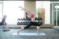 Woman do yoga Stock Photo