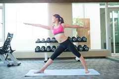Woman do yoga Royalty Free Stock Photo