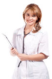 Woman doctor Stock Image