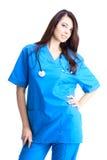Woman doctor Stock Image