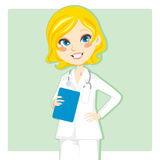Woman Doctor royalty free illustration