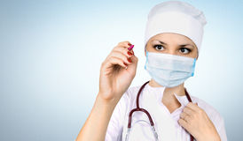 Woman the doctor Stock Image