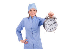 Woman doctor missing Royalty Free Stock Photos