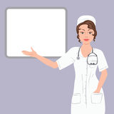Woman doctor Royalty Free Stock Photography