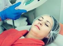 Woman doctor preparing to do beauty procedures Stock Photo